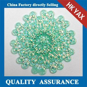 China new arrival pattern resin rhinestone,resin rhinestone pattern Peacock Flower,flat back resin pattern rhinestone on sale