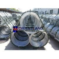 China Concertina Razor Wire Fence For Rapid Deployment System 2.5mm Diameter Triple Strand on sale