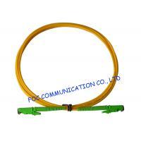 E2000 Fiber Optic Patch Cord SM G.652D Fiber Simplex 3.0mm For Telecom Networks