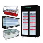 Open chiller Supermarket Showcase Refrigerator Restaurant Refrigerator  commercial refrigerators freezer Cooler Fridge