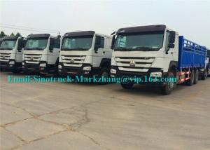China HOWO HW79 High Roof Heavy Cargo Truck 6x4 Drive Type 266 Hp Double Bunk on sale