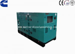 Quality Cummins 30KVA Electric Starting Silent Generator 4 Cylinders 1500rpm for sale
