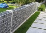 Welded Hot-dipped Galvanized Gabion Box / Rock Cage Retaining Wall Economic