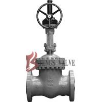 API Cast Steel Fully Open Gate Valve Metal Seat Z40H For Oil / Gas Industry