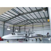 Large Span Structurel Steel Airplane Hangars With Frame Use Life 50 Years