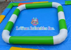 China Water Sports Games Inflatable Rectangle Pool Various Color OEM Printing on sale