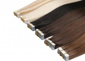 China Healthy Tape In Colored Hair Extensions 8A Grade 8 - 24 Without Knots Or Louse on sale