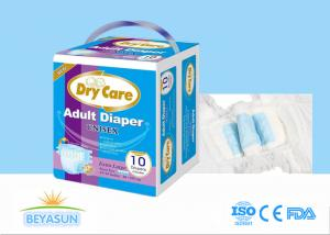 China Disposable Adult Diaper Manufacturer Good Absorption PE Backsheet with OEM logo design diapers on sale