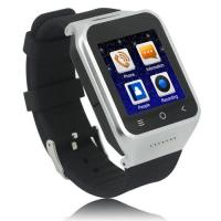 China China Factory Wearable Mobile Wristwatch Cell Phone Built-in GPS, WIFI,Compass Sensor on sale