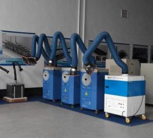 China Suppresseur professionnel de vapeur de soudure de Loobo, système d'extracteurs de fumée de soudure on sale