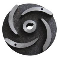 China Pump Parts Casting Ductile Cast Iron Semi-Open Impeller Casting Hardened Sand / Slurry Impeller Pump Vane on sale
