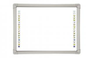 China Smooth writing education infrared interactive whiteboard system of hardware and software on sale