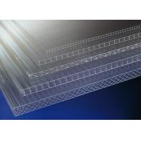 Customized Clear Greenhouse PC Hollow Sheet , translucent poly carbonate sheeting