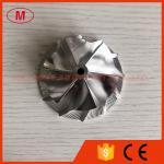 RHF5 reverse 54.50/70.00mm 6+6 blades High performance Turbo Billet/milling/aluminum 2618 compressor wheel