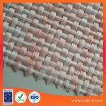 Polypropylene Natural Raffia woven fabrics paper weaving raffia cloth