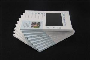 China Multi - Page Electronic Digital Video Brochure With Video Screen / Video Wedding Invitations on sale