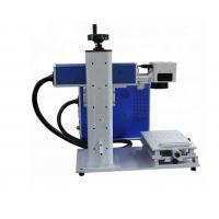 China Desktop mini small handheld mini portable fiber laser marking machine on sale