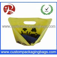 Customized Logo Printed Die Cut Handle Plastic Bags For Underwear