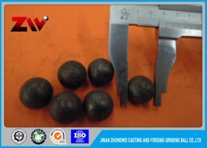 China High hardness 20mm-100mm grinding media steel balls HRC 58-64 on sale