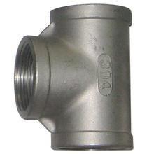 China Tee stainless steel screwed tee on sale