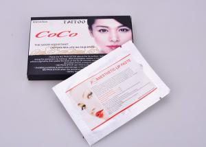 China COCO Lip Tattoo Numbing Cream Painless Lip Liquid Anesthetic Cream OEM Available on sale