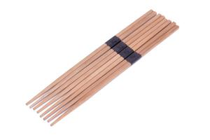 China With Customized Logo 24 CM Wholesale Asian Food Restaurant Disposable Bamboo Chopsticks on sale