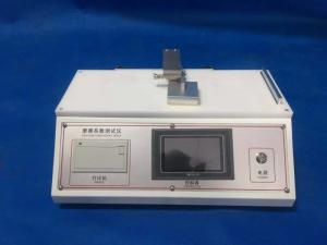 China Intelligent Plastic Films , Rubber / Paper Coefficient Of Friction Tester on sale