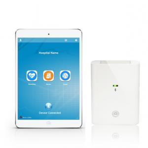 China 12 Lead IPad / IPod Handheld ECG Machine 2 AA Batteries Power For Medical on sale