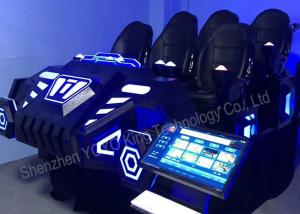 China 6 Seats Family Games Machine 9D VR Games Simulator With Virtual Reality Glasses on sale