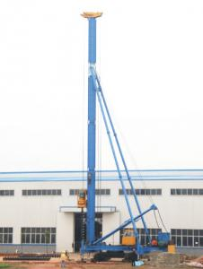 China CFG20 Hydraulic Foot-Step Long Auger Drilling Rig on sale