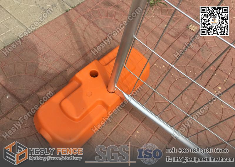 Temporary Fence Plastic Block