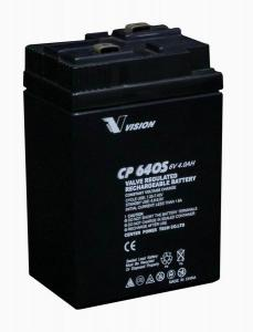 China A bateria de Vrla, bateria de AGM, levanta CP640E 6V 4Ah on sale