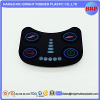 High Quality Foodgrade Custom 50 Shore A Various Silicone Rubber Keypad With Spray Wear-Resistant Hand Ink