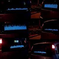China Flashing el car sticker, Topelsticker on sale