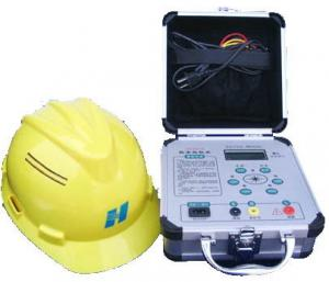 China EN 397 and ANSI Z89 Standard Portable Safety Helmet Anti Static Resistance Tester on sale