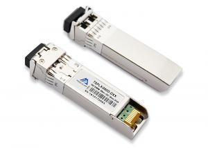 China Dual LC DWDM SFP+ Transceivers 10.3125 11.09Gpbs 50ghz 80km CH17-61 C-BAND SMF on sale