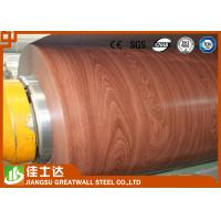 ASTM,AISI,JIS,GB,CGCC Wooden Color Ppgi Steel Coil Pre-Painted Galvanized Steel Coils