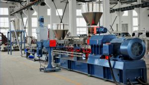 China High Efficient Plastic Pelletizing Equipment , Plastic Recycling Granulator Machine on sale