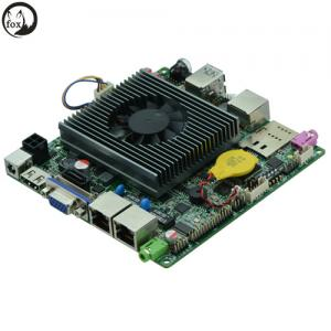China ITX-N29_2L - 12*12 Bay trail Motherboard, Dual Lan Quad Core Mainboard J1900,nano motherboard on sale
