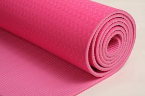 China Non-slip Eco friendly TPE yoga mat-best yoga mat supplier on sale