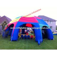 Durable Rain Proof Inflatable Tent , Inflatable Event Tent With 0.6mm PVC Tarpaulin