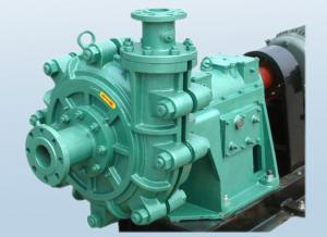 Higher Efficiency Sand Slurry Pump , Small Sludge Pump Lower
