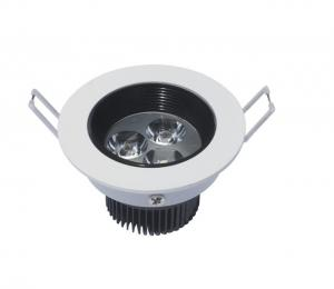 China 3w 2700 Lumens Interior Recessed Led Ceiling Lights Fixtures Of Anodized Aluminum on sale