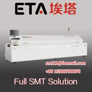 China SMT lead-free hot air reflow oven/smt reflow oven/automatic reflow OVEN supplier