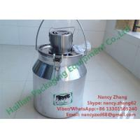 China Home Appliances Electric Milk Mixer Machine With Food Grade Aluminum Milk Can on sale