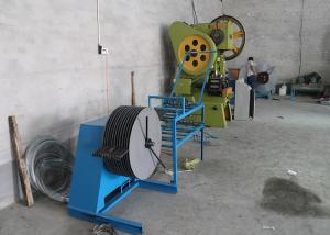 China Easily Operating Razor Barbed Wire Machine 6000kg Weight Low Raw Materials Loss on sale