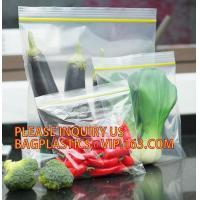 China Eco-friendly PE two Track Vacuum Plastic Zipper,PE Hermetic Seal Zipper, Custom Double Seal Plastic Bag /Double Track Pl on sale