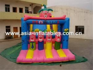 China Hot clown inflatable jumping bounce funny inflatable combo on sale