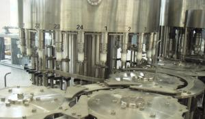 China 24 heads RO, pure automatic water bottling filling machines, liquid filler machinery on sale