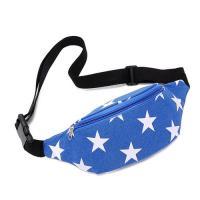 Multiple Colors Fanny Pack / Waist Bag Adjustable Shoulder Strap Small Pocket